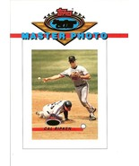 1993 topps cal ripken jr proof baltimore orioles stadium club master pho... - $999.99