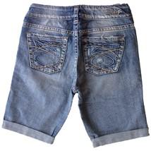 New SILVER Jeans Sale Buckle NEW Mid Rise Suki Stretch Denim Jean Shorts Size 27 - $19.97