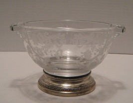 Cambridge Glass Co. Chantilly with Sterling Base - $36.10