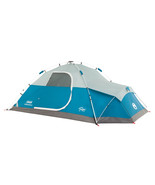 Coleman Juniper Lake 4 Person Instant Dome Camping Tent w/Annex-Blue - $142.15