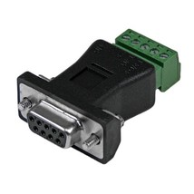 StarTech RS422 RS485 Serial DB9 to Terminal Block Adapter  - $43.00
