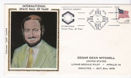 EDGAR DEAN MITCHELL SPACE HALL OF FAME ALAMOGORDO NM OCT 6 1979 COLORANO... - $2.98