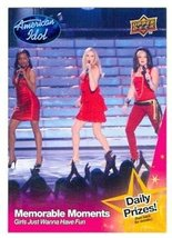 Girls Just Wanna Have Fun trading card (Singers) 2009 Upper Deck America... - $4.00