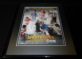 Shameless 2011 Showtime Framed 11x14 ORIGINAL Advertisement William H Macy - $32.36