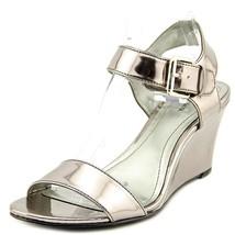 Style & Co. Pewter Daryn Wedge Sandals Women's US 6.5 M - €37,99 EUR