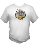 Minnesota Football Team Sports Style Graphic T Shirt Black Red White L X... - $19.99