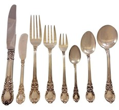 American Victorian by Lunt Sterling Silver Flatware Set 18 Service 147 Pieces - $6,900.00