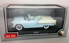 Sun Star 1:43 1955 Chevrolet Bel Air diecast car NIB convertible - $14.95