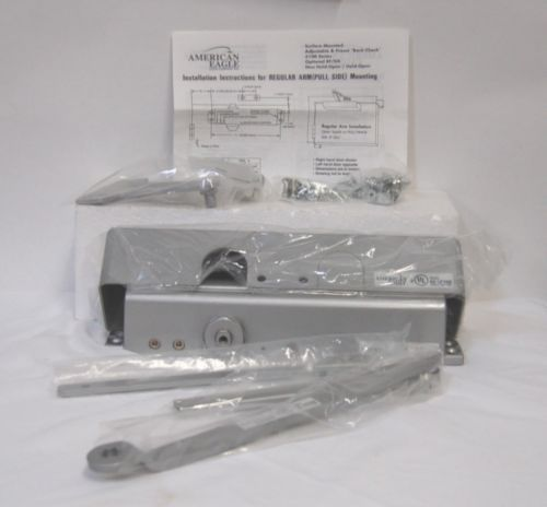 PDQ American Eagle 5101 BC PA11 Silver Door CLosure Non Handed