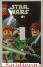 Lego Star Wars Light Switch Duplex Outlet Power wall Cover Plate Home decor image 1