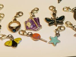 Dangle Charm w/ Lobster Claw Clasp for Bracelet/Necklace/Key Ring - YOU CHOOSE image 3
