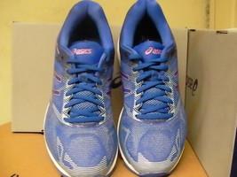 Asics women's gel nimbus 19 blue purple violet running shoes size 8 us - $128.65