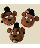 """3 Funko Mymoji Plush Freddy Head Five Nights at Freddys  NWT 6"""" FNF - $14.84"""