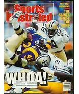 Nov 21 1988 SPORTS ILLUSTRATED MAGAZINE SAINTS ... - $3.95