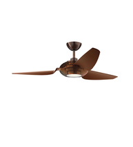 Kichler 300706OBB Signature Ceiling Fans 60in Oil Brushed Bronze Polycar... - £491.95 GBP