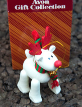 Avon Belvedeer The Christmas Reindeer 1987  Christmas Ornament  - $14.80