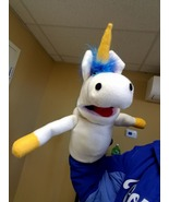 "MADE TO ORDER: Professional ""Unicorn"" Muppet Style Ventriloquist Puppet - $40.00"