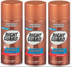 Right Guard GOLD Sport Aerosol Deodorant Spray, Original, 8.5 oz (3 Pack) - $18.69