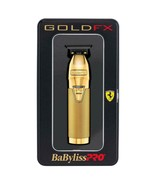 Babyliss Pro Gold FX Metal Lithium Outlining Trimmer Cordless T-Blade #F... - $168.25
