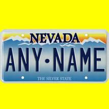 1/43-1/5 scale custom license plates any brand RC/model car - Nevada tag - $11.00