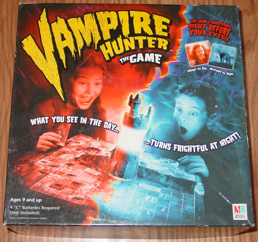 Primary image for VAMPIRE HUNTER GAME 2002 MILTON BRADLEY HASBRO #40283 COMPLETE EXCELLENT