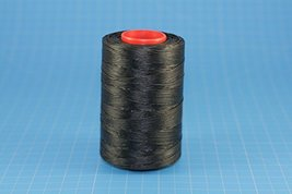 25m of BLACK RITZA 25 Tiger Wax Thread for Leather Hand Sewing 4 Sizes Available - $2.47