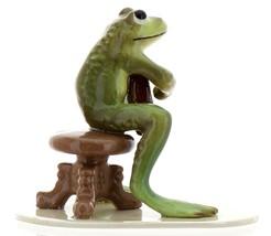Hagen-Renaker Specialties Froggie Mountain Breakdown Bluegrass Frog Mandolin  image 3