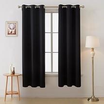 Deconovo Grommet Window Panels Room Darkening Thermal Insulated Blackout... - $28.36