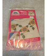 Plaid Reusable Screen Pattern - Sunflowers - $6.99