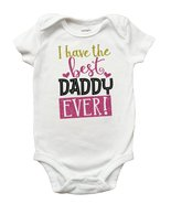 I Have the Best Daddy Ever Shirt, Fathers Day Shirt for Girls, Fathers D... - $9.99+