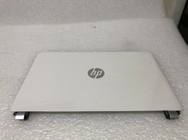 HP 14-N Touch version LCD Cover Lid White w bubbles  8-7 - $24.75