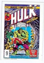 1978 Marvel Comics trading card #9 The Incredible Hulk - $4.00