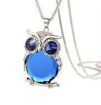 Gorgeous Owl Clothes Pendant Necklace Sweater Chain Long Fashion Women - $26.50