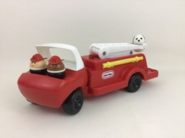 Firetruck Extension Ladder Little Tikes Toddle Tots w/ 3 Chunky Figures ... - $44.50