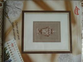 Set cross stitch Lanarte. 34653 Greek vase. Size 15/20 cm. - $7.00