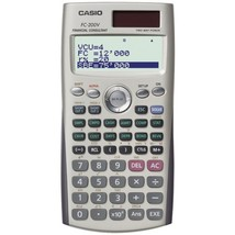 CASIO FC-200V Financial Calculator - $51.48