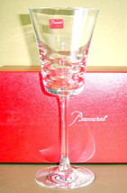 "Baccarat LOLA WHITE WINE (1) American No. 3 French Crystal 8.25"" #2610693 New - $129.50"