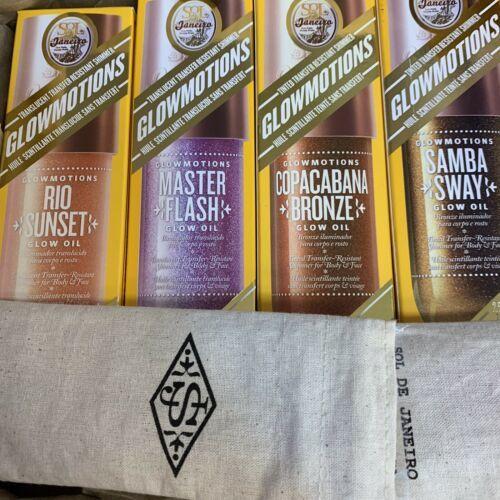 Glowmotions Shimmer Oil For Body Sol de Janeiro Master Flash Transferproof!