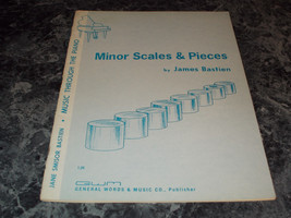 Jane Simisor Minor Scales & Pieces by James Bastien sheet music - $6.99