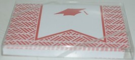 Rosanne Beck 211 0954R Red Folded Note Grad Cap Cards and Envelopes Package 10 image 2