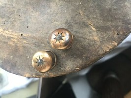 Antique Victorian GF Gold Filled Old Miners Cut Paste CuffLinks Movable - $35.99