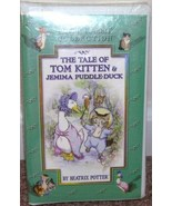 Beatrix Potter THE TALE OF TOM KITTEN & JEMIMA PUDDLEDUCK VHS VIDEO NEW!... - $9.96