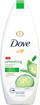 Dove Refreshing Body Wash Revitalizes and Refreshes Skin Cucumber Green...  - $25.64