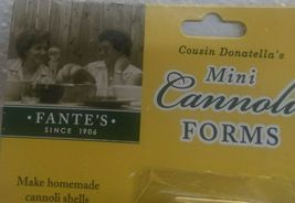 hic Fantes Mini Cannoli Maker Forms, Stainless Steel, Set of 4 image 3
