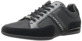 Hugo Boss Green Men's Premium Sport Fashion Sneakers Running Shoes Spacit image 2