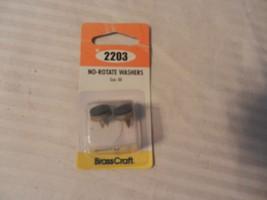 Brass Craft No Rotate Washers Size 00 #SC2203 Package of 2 - $6.92