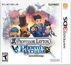Professor Layton vs Phoenix Wright Ace Attorney [video game] - $64.95