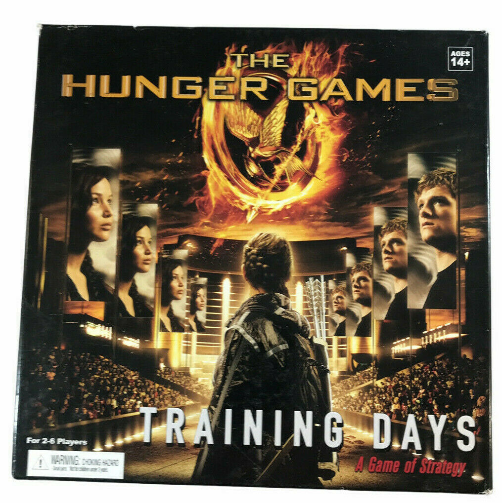 The Hunger Games Training Days A Game of Strategy 2012 - $14.84