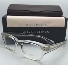 New Oliver Peoples Eyeglasses Bradford Ov 5229 1101 50-20 Crystal Transparent - $339.95
