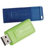 Verbatim 99812 64GB Store 'n' Go USB Flash Drive, 2 pk - $37.50